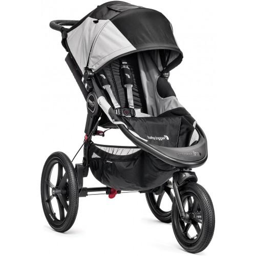 Kočárek BabyJogger SUMMIT X3 SINGLE 2021 Black/Grey