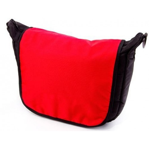 Baby Joy přebalovací taška LUX na kočárek černá/červená