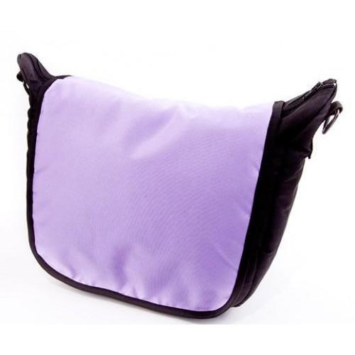 Baby Joy přebalovací taška LUX na kočárek černá/lila