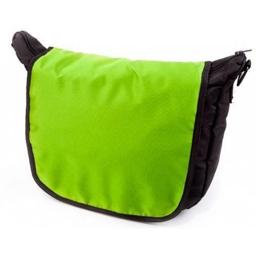 Baby Joy přebalovací taška LUX na kočárek černá/zelená