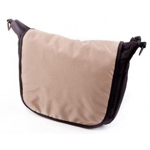 Baby Joy přebalovací taška LUX na kočárek černá/cappucino