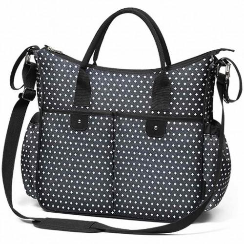 Stylová taška na kočárek BASIC SO CITY Baby Ono černo bílá