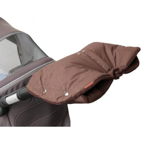 Emitex rukávník DUO 2v1 EXTRA, hnědý