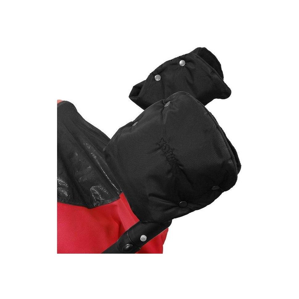 Emitex rukávník ke kočárku/rukavice, černý