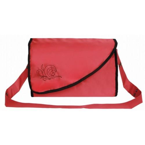 Emitex přebalovací taška KATE s kapsami, červená
