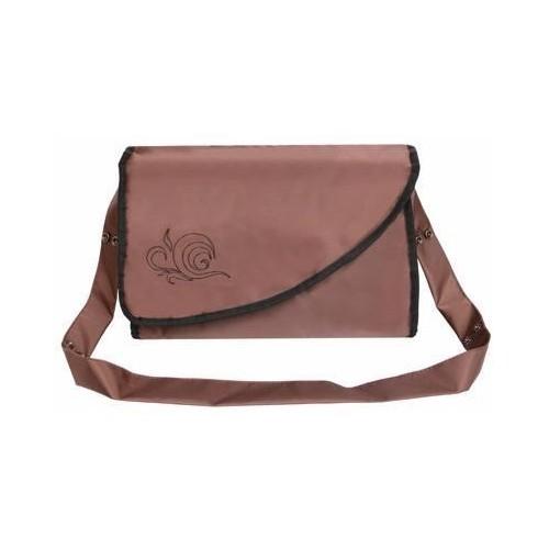 Emitex přebalovací taška KATE s kapsami, hnědá