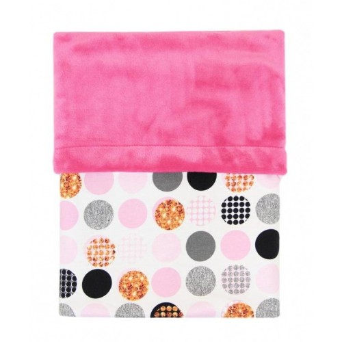 Emitex deka MIMI bublina pink/Velvet fuchsie