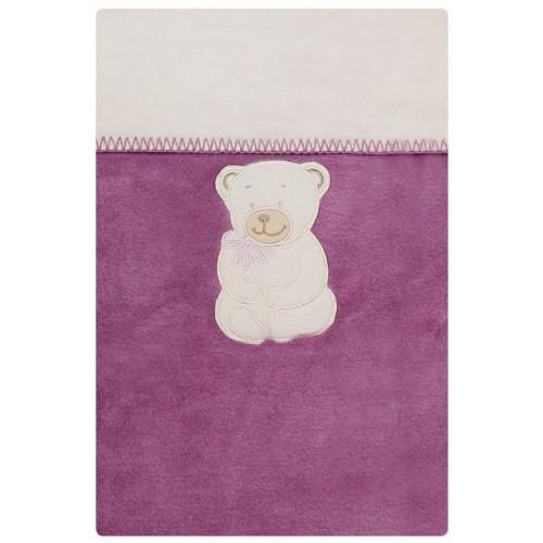 Dětská deka Womar 100x150 fialová