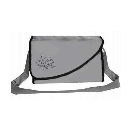 Emitex přebalovací taška KATE s kapsami, šedá