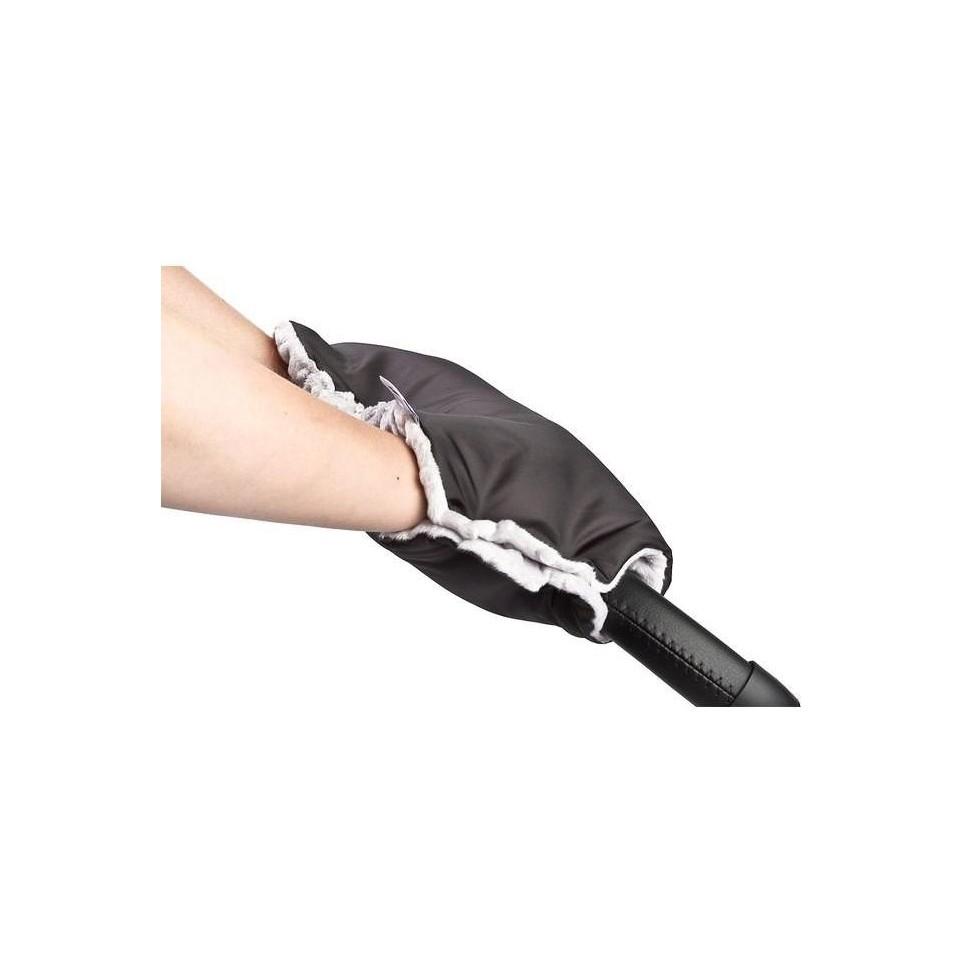Rukávník na kočárek z Minky Sensillo 40x45 black