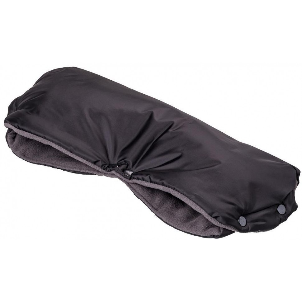 HappyBee rukávník fleece černá/šedá