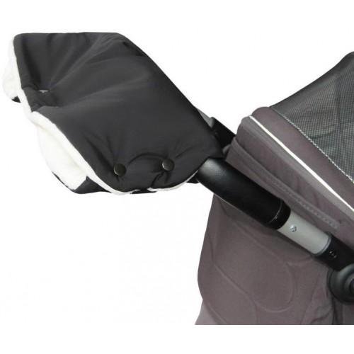 Emitex rukávník PREMIUM černý/krémový