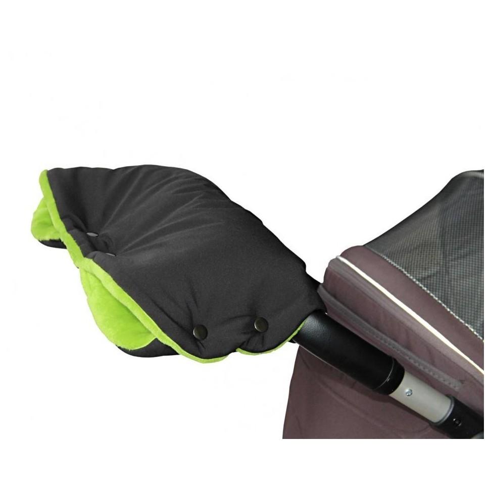 Emitex rukávník PREMIUM černý/limeta