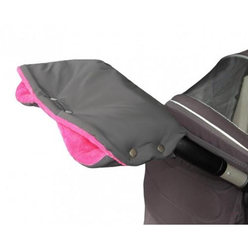 Emitex rukávník PREMIUM šedý/fuchsie