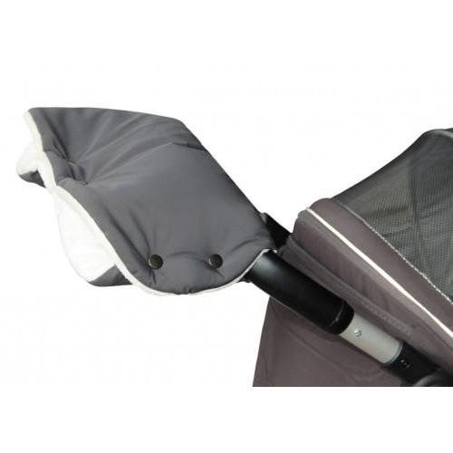 Emitex rukávník PREMIUM šedý/krémový