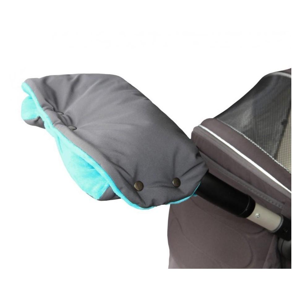 Emitex rukávník PREMIUM šedý/aqua