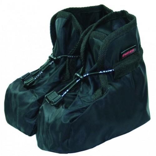 Dětské návleky na boty černé
