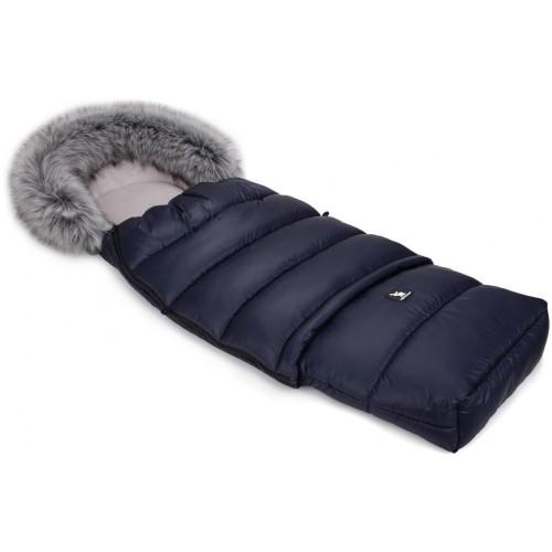 Zimní fusak Cottonmoose Combi s kožíškem Dark Blue