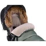 Zimní fusak Cottonmoose Combi s kožíškem Black