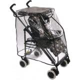 Emitex pláštěnka TRACKING na kočárek 4Baby, TFK, Baby Design, Chicco, Quinny, černá