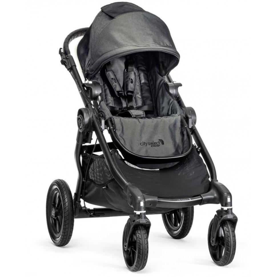Kočárek Baby Jogger City Select Charcoal 2018, černý rám
