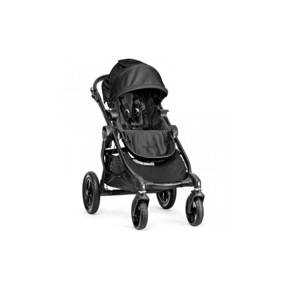 Kočárek Baby Jogger City Select Black 2018, černý rám