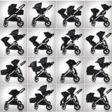 Kočárek Baby Jogger City Select Teal 2018, černý rám