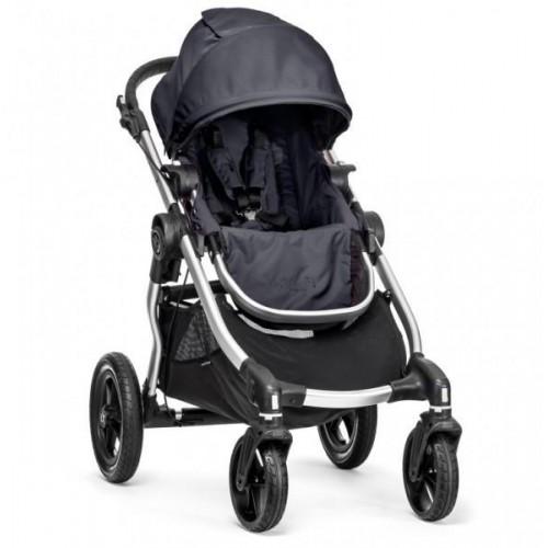 Kočárek Baby Jogger City Select Titanium 2018, stříbrný rám