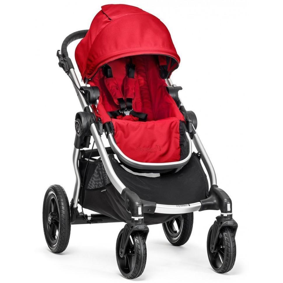 Kočárek Baby Jogger City Select Ruby 2018, stříbrný rám