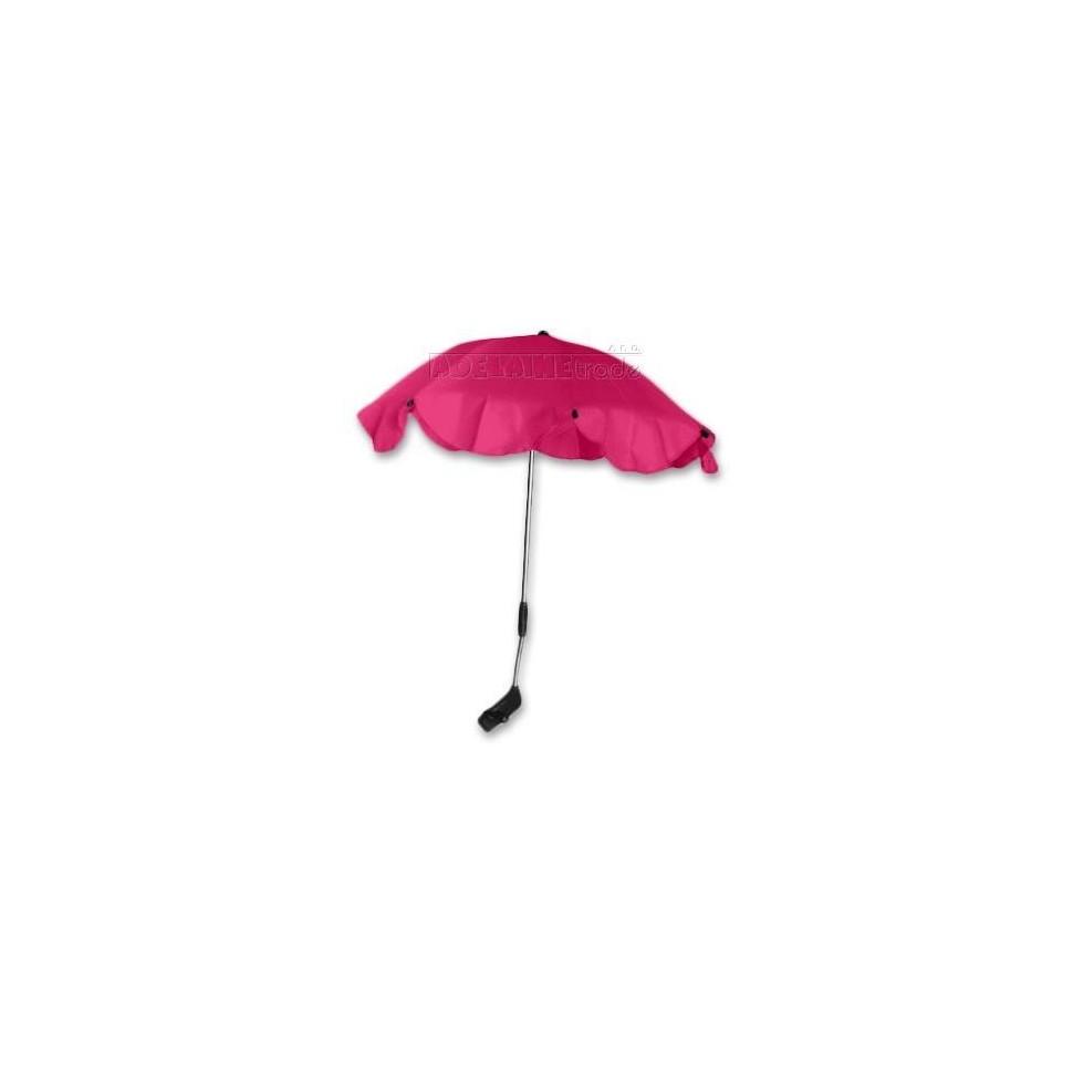 Baby Nellys Slunečník, deštník univerzální do kočárku - růžový