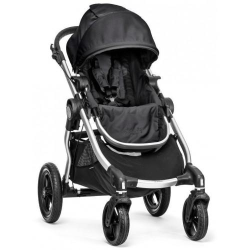 Kočárek Baby Jogger City Select Onyx 2018, stříbrný rám