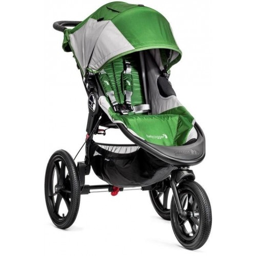 Kočárek Baby Jogger Summit X3 2018 Green/Gray