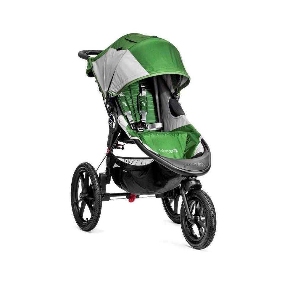 Kočárek Baby Jogger Summit X3 2018 Green/Gray