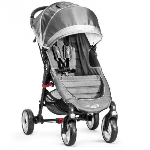 Kočárek Baby Jogger City Mini 4 Kola 2018 Steel Gray