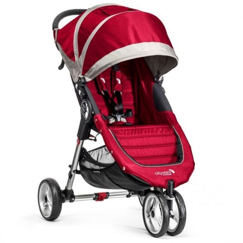 Kočárek Baby Jogger City Mini 2018 Crimson/Gray