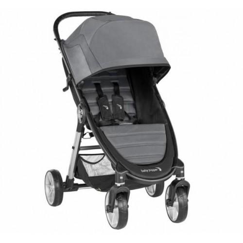 Kočárek Baby Jogger City Mini 4 Kola 2, Slate 2019