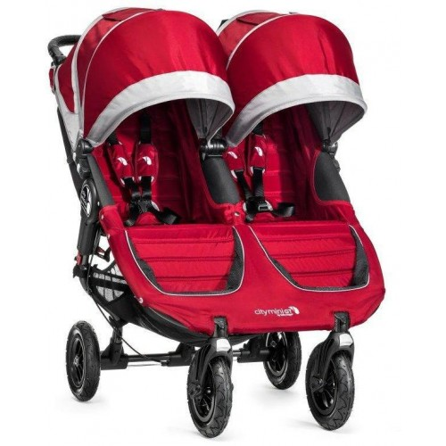 Kočárek Baby Jogger City Mini Gt Double 2018 Crimson/Gray