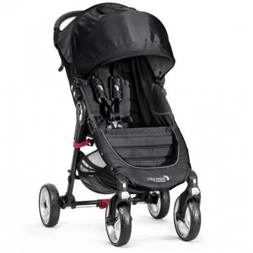 Kočárek Baby Jogger City Mini 4 Kola 2018 Black/Gray