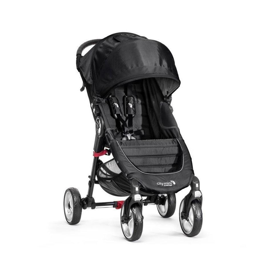 Kočárek Baby Jogger City Mini 4 Kola 2018 Black/Gray