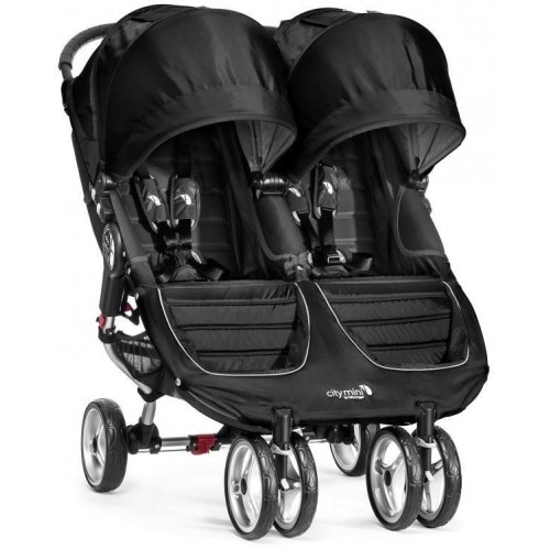 Kočárek Baby Jogger City Mini Double 2018 Black/Gray