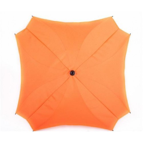 Slunečník na kočárek Baby Joy, čtvercový oranžová