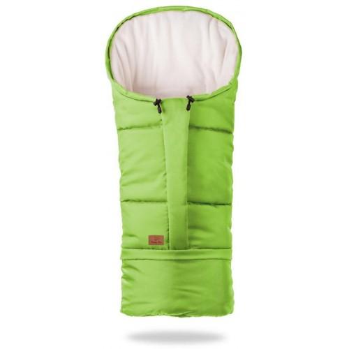 HappyBee zimní fusak  Mumi 3v1 fleece zelená