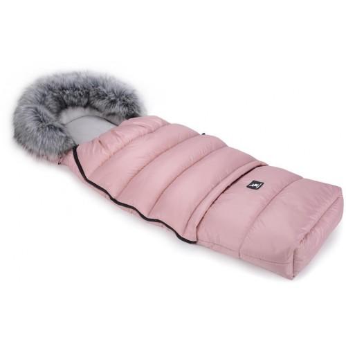 Zimní fusak Cottonmoose Combi s kožíškem Pink
