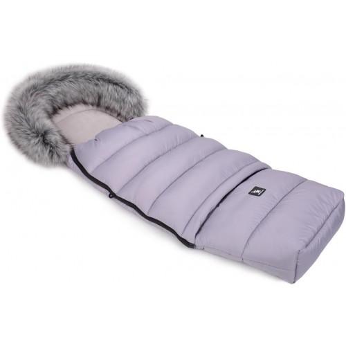 Zimní fusak Cottonmoose Combi s kožíškem Grey