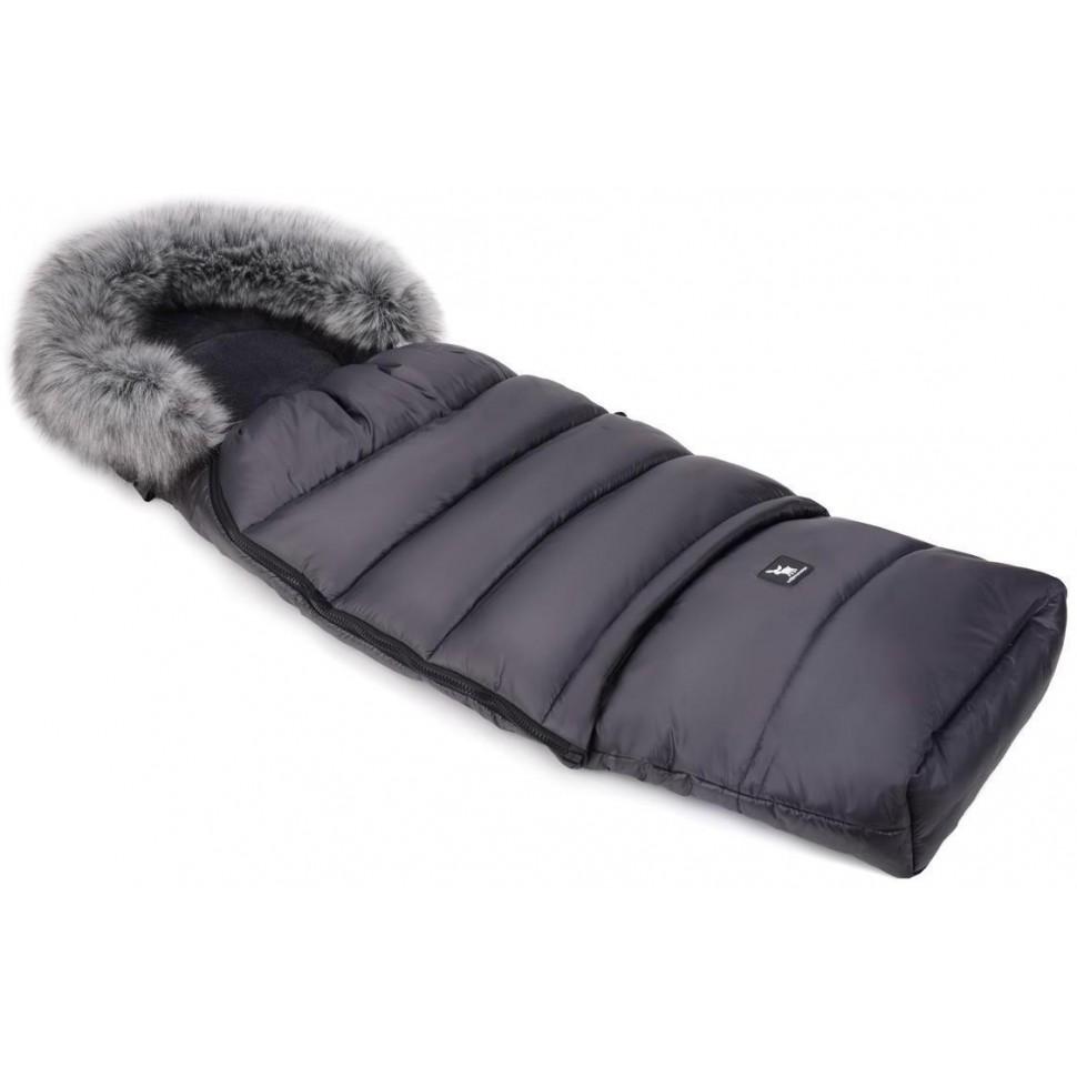 Zimní fusak Cottonmoose Combi s kožíškem Graphite