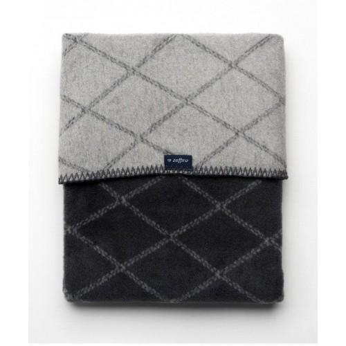 Dětská bavlněná deka se vzorem Womar 75x100 grafitovo-šedá