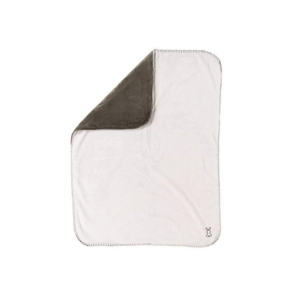 Deka Lapidou 75x100 cm anthracite/white