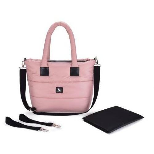 Prošívaná taška Cottonmoose Moose Pink