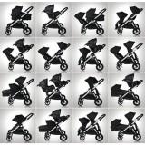Kočárek Baby Jogger City Select Garnet 2018, černý rám