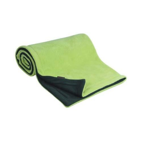 Emitex deka 70x100 cm fleece, antracit/limetka